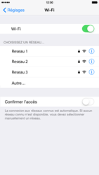 Apple iPhone 6 Plus iOS 8 - Wifi - configuration manuelle - Étape 4
