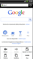 HTC Z715e Sensation XE - Internet - Navigation sur Internet - Étape 5