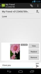 Acer Liquid E1 - Mms - Sending a picture message - Step 15