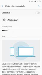 Samsung Galaxy A3 (2017) (A320) - Internet et connexion - Partager votre connexion en Wi-Fi - Étape 7
