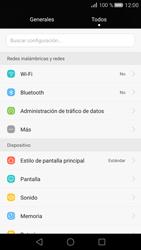 Huawei P8 - Bluetooth - Conectar dispositivos a través de Bluetooth - Paso 3