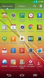 LG G2 - Bluetooth - Transferir archivos a través de Bluetooth - Paso 3