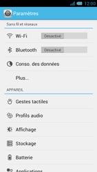 Bouygues Telecom Bs 471 - Internet et connexion - Désactiver la connexion Internet - Étape 4