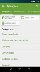 Huawei P8 Lite - Aplicações - Como pesquisar e instalar aplicações -  5