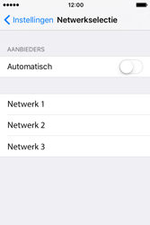 Apple iPhone 4 S iOS 9 - Netwerk - Handmatig netwerk selecteren - Stap 9