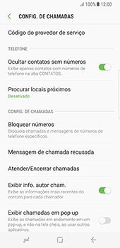 Samsung Galaxy S8 - Chamadas - Como bloquear chamadas de um número específico - Etapa 7