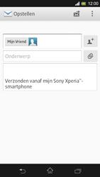 Sony Xperia SP 4G (C5303) - E-mail - Hoe te versturen - Stap 8
