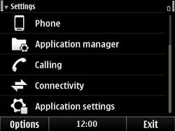 Nokia E6-00 - Voicemail - Manual configuration - Step 4