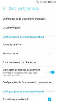 Asus Zenfone Selfie - Chamadas - Como bloquear chamadas de um número específico - Etapa 8