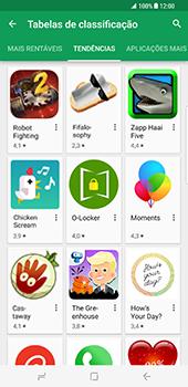 Samsung Galaxy S8 Plus - Aplicações - Como pesquisar e instalar aplicações -  10