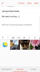 Samsung Galaxy S6 Edge - Android M - Email - Sending an email message - Step 12