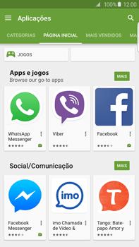 Samsung Galaxy S6 Edge + - Aplicações - Como pesquisar e instalar aplicações -  5