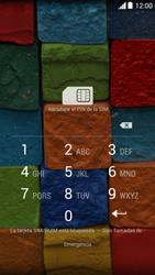 Motorola Moto X (2ª Gen) - Primeros pasos - Activar el equipo - Paso 2