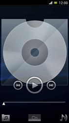 Sony Ericsson Xpéria Arc - Photos, vidéos, musique - Ecouter de la musique - Étape 4