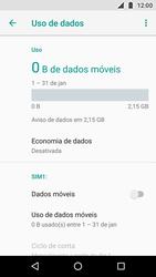 Motorola Moto X4 - Rede móvel - Como ativar e desativar uma rede de dados - Etapa 7