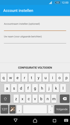 Sony Xperia M5 - E-mail - Account instellen (IMAP met SMTP-verificatie) - Stap 21