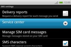 HTC A810e ChaCha - SMS - Manual configuration - Step 6
