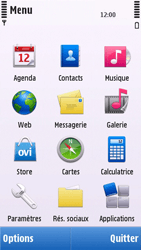 Nokia C5-03 - MMS - envoi d'images - Étape 2