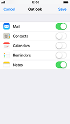 Apple iPhone 5s - iOS 12 - Email - 032c. Email wizard - Outlook - Step 9