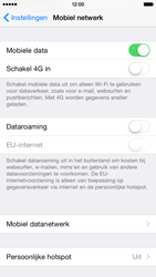 Apple iPhone 6 iOS 8 - Internet - handmatig instellen - Stap 4