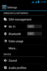 Acer Liquid Z2 - Internet - Enable or disable - Step 4