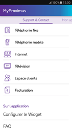 Samsung Galaxy S6 - Android M - Applications - MyProximus - Étape 21