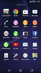 Sony Xperia T3 - Applications - Downloading applications - Step 3