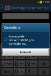 Samsung S6810P Galaxy Fame - E-mail - e-mail instellen: IMAP (aanbevolen) - Stap 12