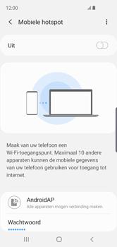 Samsung galaxy-s10e-dual-sim-sm-g970f - WiFi - Mobiele hotspot instellen - Stap 8