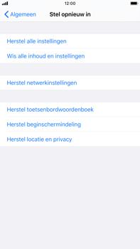 Apple iphone-8-plus-met-ios-13-model-a1897 - Instellingen aanpassen - Fabrieksinstellingen terugzetten - Stap 5