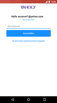 Nokia 6.1 - E-mail - handmatig instellen (yahoo) - Stap 9