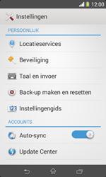 Sony Xperia E1 (D2005) - Instellingen aanpassen - Fabrieksinstellingen terugzetten - Stap 4