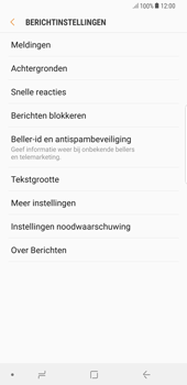 Samsung Galaxy S8 Plus - Android Oreo - MMS - probleem met ontvangen - Stap 6