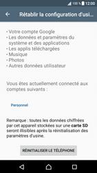 Sony Xperia XA1 - Device maintenance - Retour aux réglages usine - Étape 7