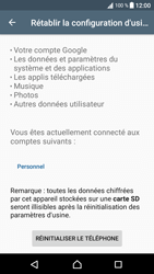 Sony Xperia XA1 - Aller plus loin - Restaurer les paramètres d'usines - Étape 6