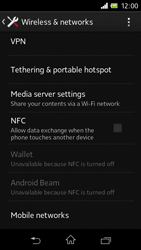 Sony C1905 Xperia M - Network - Usage across the border - Step 5
