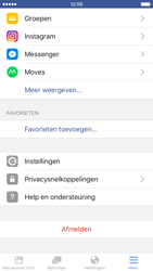 Apple iPhone 6 met iOS 9 (Model A1586) - Privacy - Privacy instellingen van Facebook aanpassen - Stap 5