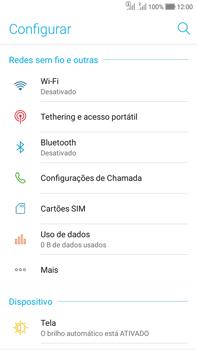 Asus Zenfone Selfie - Wi-Fi - Como configurar uma rede wi fi - Etapa 4