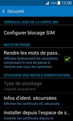 Samsung Galaxy Trend 2 Lite - Sécuriser votre mobile - Personnaliser le code PIN de votre carte SIM - Étape 5