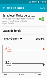 Samsung Galaxy J1 (2016) (J120) - Internet - Ver uso de datos - Paso 9