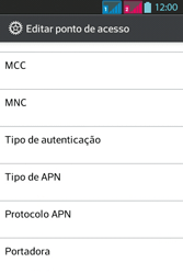 LG Optimus L5 Dual - Internet - Como configurar seu celular para navegar através de Vivo Internet - Etapa 15