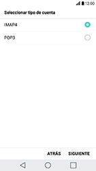 LG K10 (2017) - E-mail - Configurar correo electrónico - Paso 8