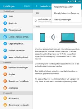 Samsung Galaxy Tab A 9.7 (SM-T555) - WiFi - Mobiele hotspot instellen - Stap 7