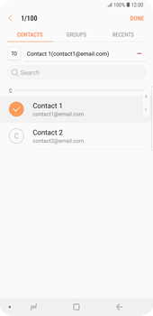 Samsung Galaxy S9 Plus - Email - Sending an email message - Step 8