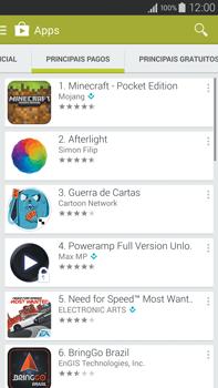Samsung N910F Galaxy Note 4 - Aplicativos - Como baixar aplicativos - Etapa 7