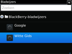 BlackBerry 9790 Bold - Internet - Hoe te internetten - Stap 9