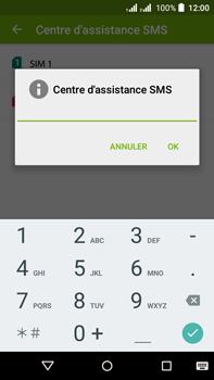 Acer Liquid Z630 - SMS - configuration manuelle - Étape 10