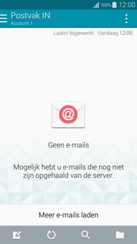 Samsung N910F Galaxy Note 4 - E-mail - e-mail instellen: IMAP (aanbevolen) - Stap 4