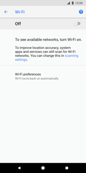 Google Pixel 2 XL - WiFi and Bluetooth - Manual configuration - Step 6