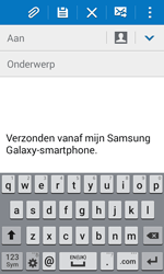 Samsung G388F Galaxy Xcover 3 - E-mail - E-mails verzenden - Stap 5